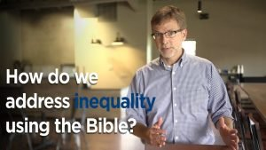 Peter Hubbard addressing inequality using the Bible